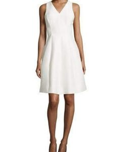 Halston Heritage Fit and Flare Cocktail Dress